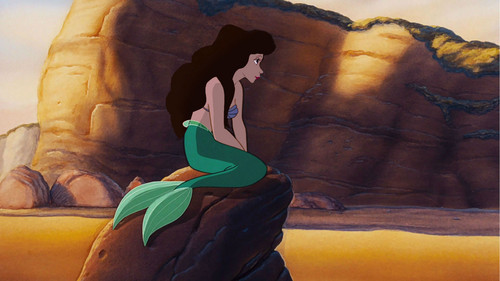 princesas de disney fondo de pantalla titled Vanessa as Ariel (Mermaid form)