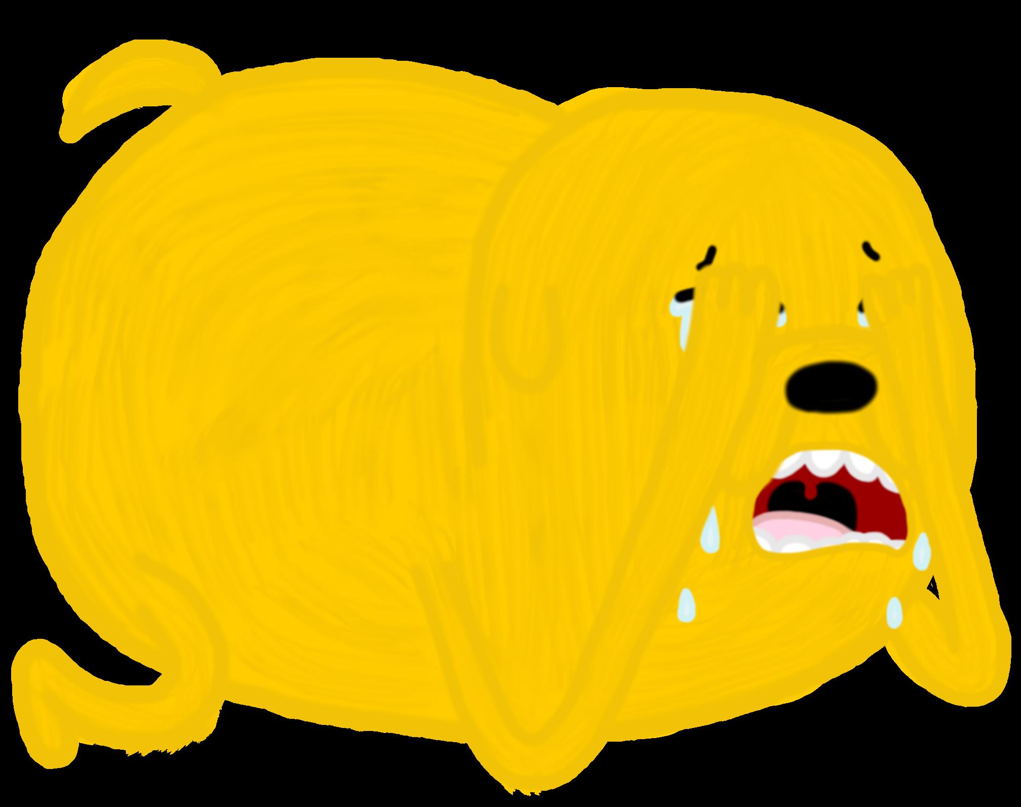 Violent crying