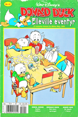 Walt Disney Comics - Donald canard (Norwegian Version)