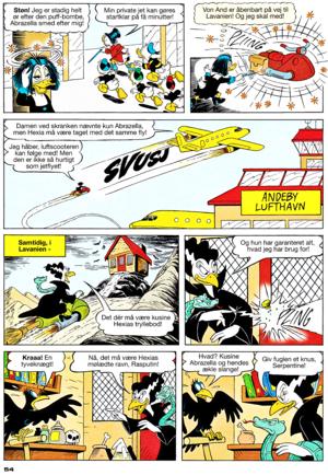 Walt Дисней Comics - Scrooge McDuck: Cousin Abrazella (Danish Edition)