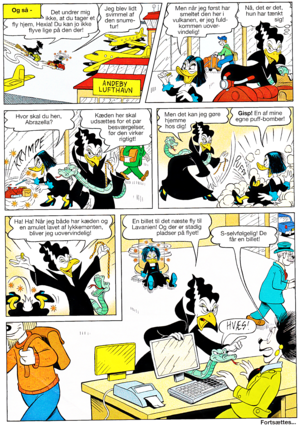 Walt Disney Comics - Scrooge McDuck: Cousin Abrazella (Danish Edition)
