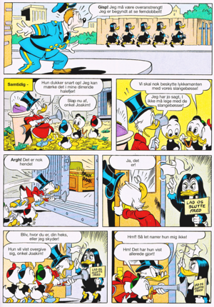 Walt डिज़्नी Comics - Scrooge McDuck: Witch-hunt (Danish Edition)