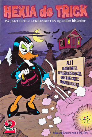 Walt disney Comics - The Villains: Magica De Spell (Danish Edition)