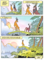 Walt ডিজনি Movie Comics - Bambi (Danish Edition)