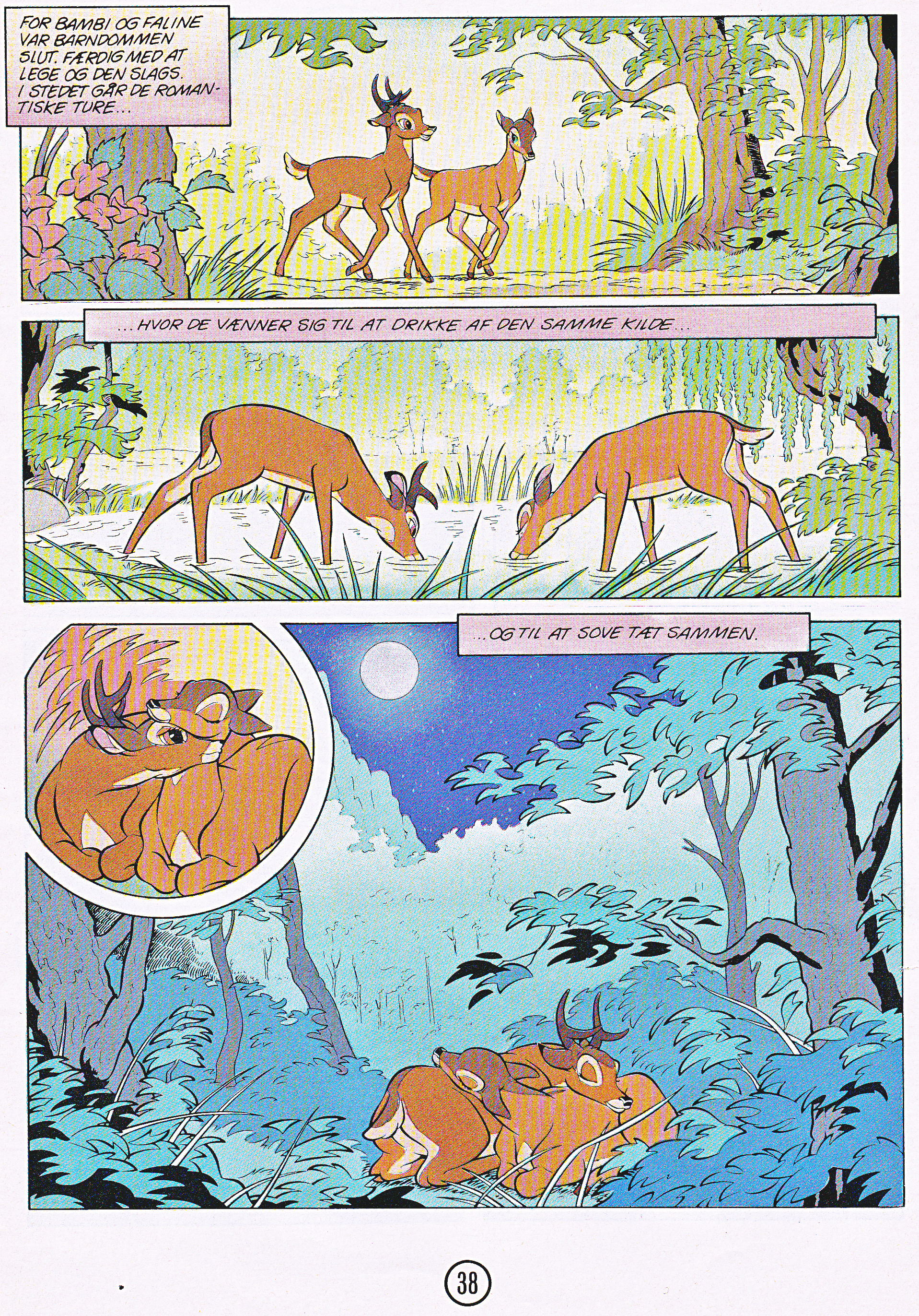 Walt Disney Movie Comics - Bambi (Danish Edition)