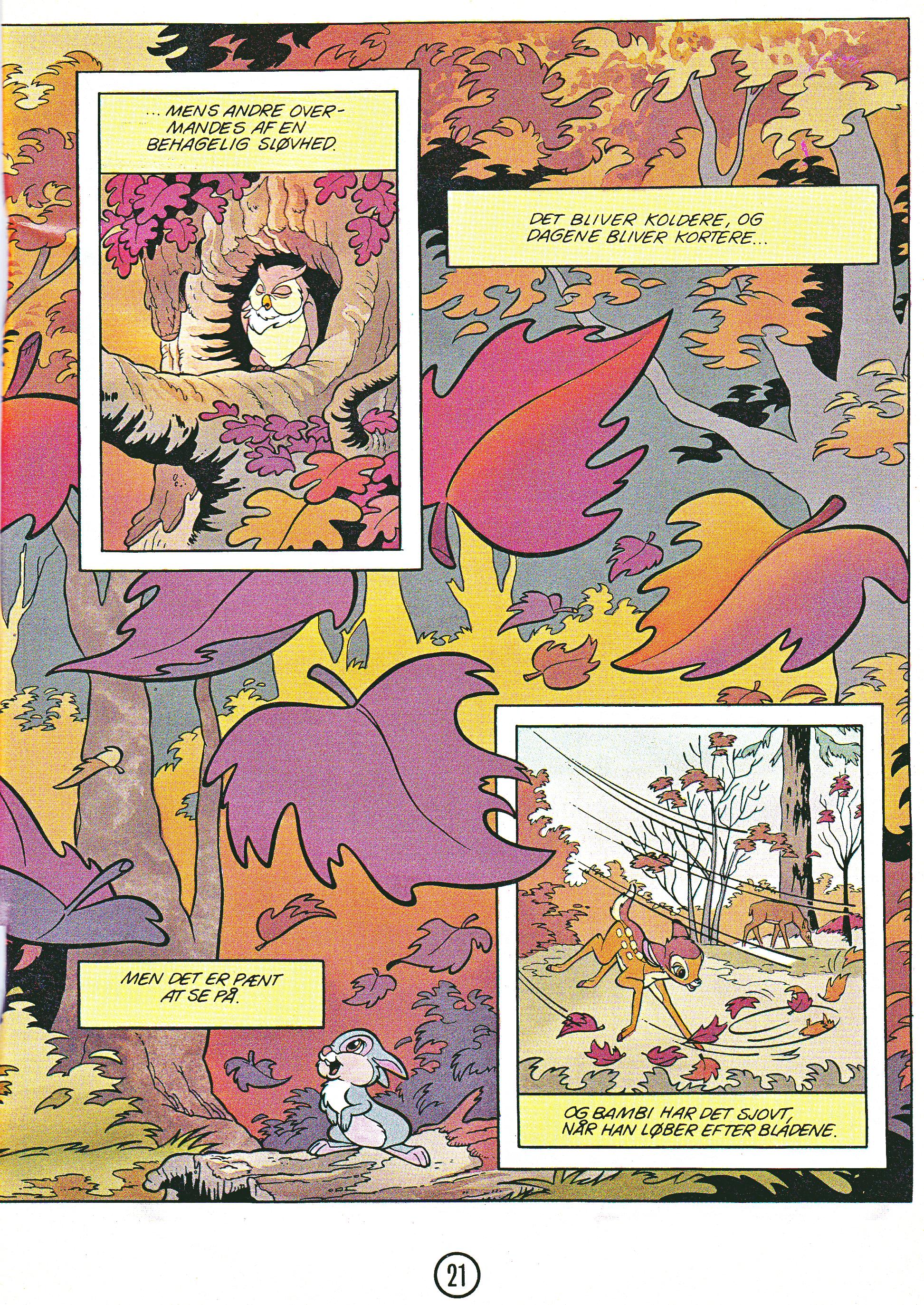 Walt Disney Movie Comics - Bambi (Danish Edition)