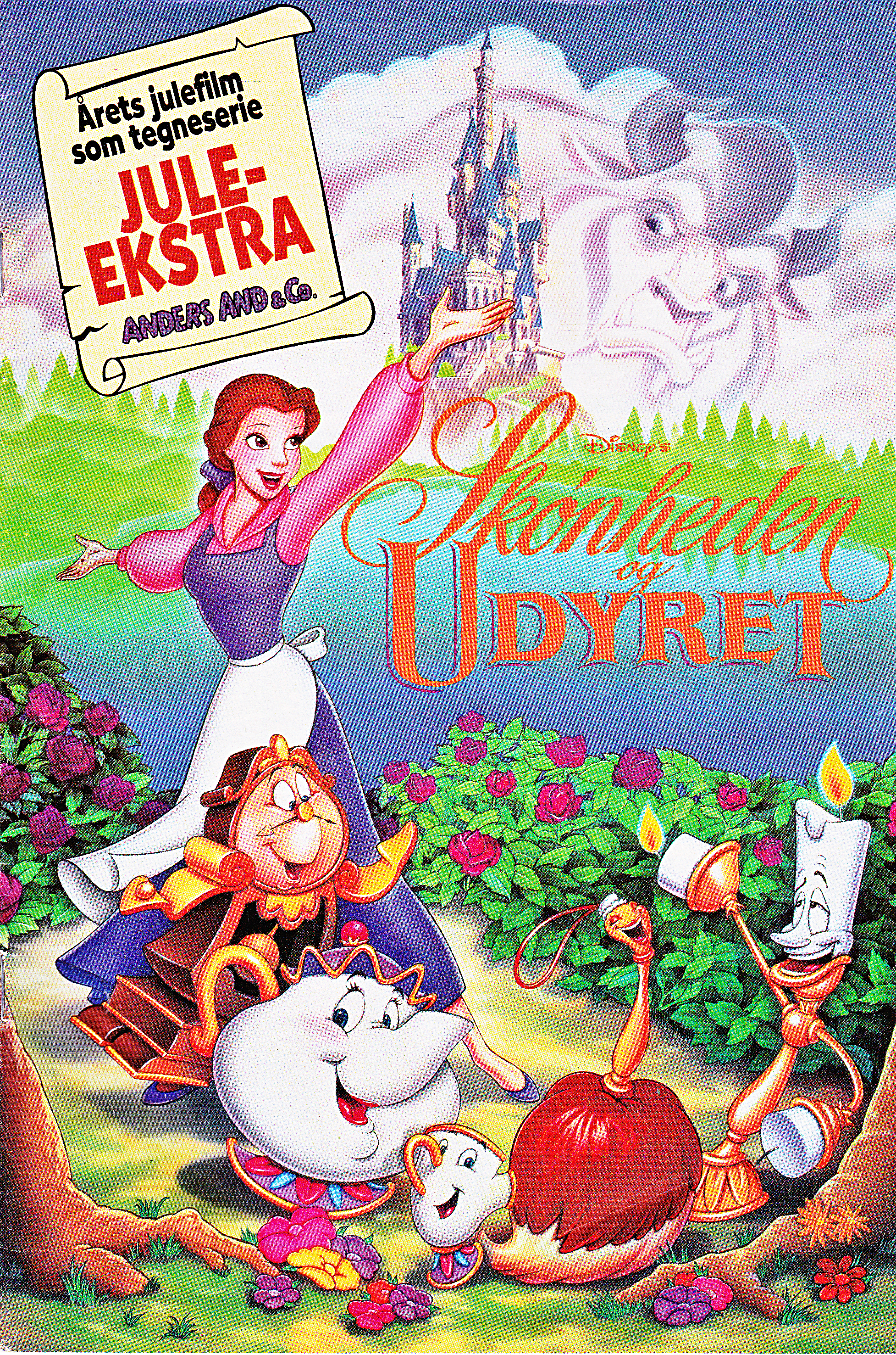 Walt Disney Movie Comics - Beauty and the Beast (Danish Edition)