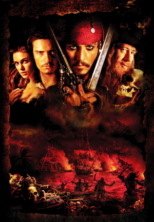 Walt डिज़्नी Posters - Pirates of the Caribbean: The Curse of the Black Pearl