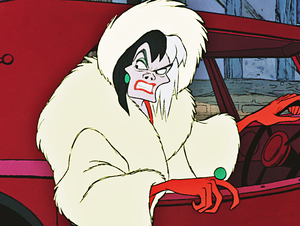 Walt 迪士尼 Screencaps - Cruella De Vil