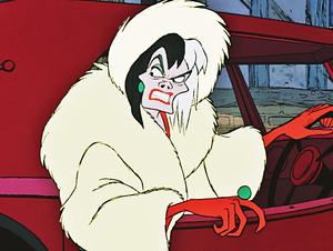 Walt Дисней Screencaps - Cruella De Vil
