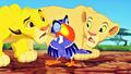 Walt 디즈니 Screencaps - Simba, Zazu & Nala