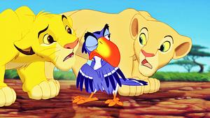 Walt Disney Screencaps - Simba, Zazu & Nala