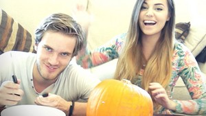 We're making pumpkins