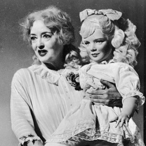 What Ever Happened to Baby Jane? karatasi la kupamba ukuta possibly with a bouquet and a portrait titled What Ever Happened to Baby Jane?