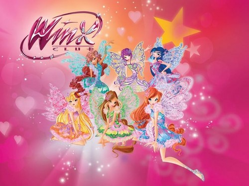 The Winx Club wallpaper entitled Winx Club Butterflix