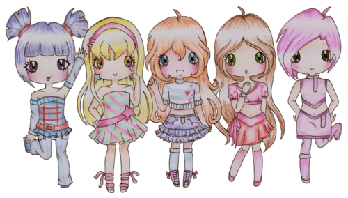Chibi wallpaper entitled Winx Club Chibi