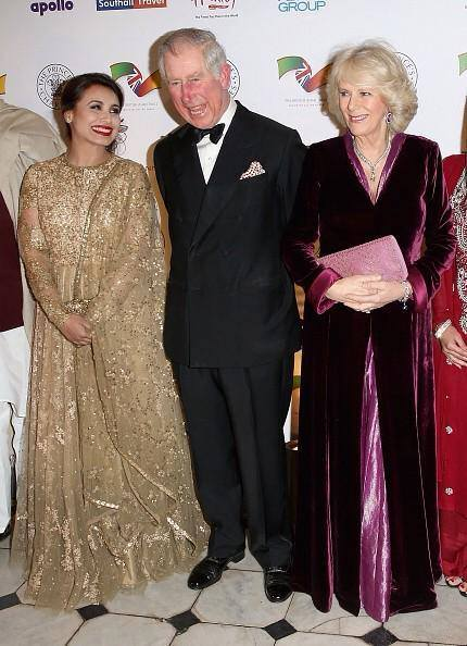 With Prince Charles and Wife!