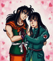 Yamcha and Mai by kaitlynrager - dragon-ball-females fan art