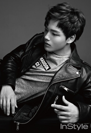 Yeo Jin Goo For InStyle Korea's June 2015 Issue