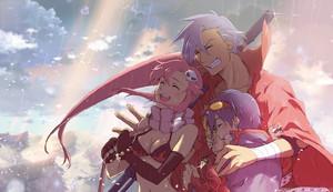 Yoko, Kamina and Simon