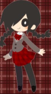 Yonaka in her school uniform