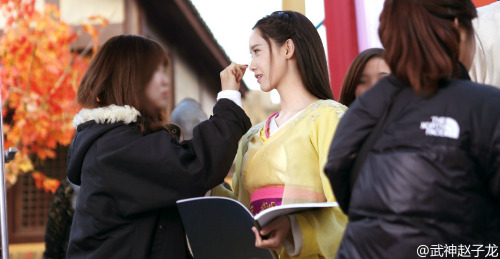 Im yoonA fond d'écran probably containing a business suit entitled Yoona - God of War Zhao Yun