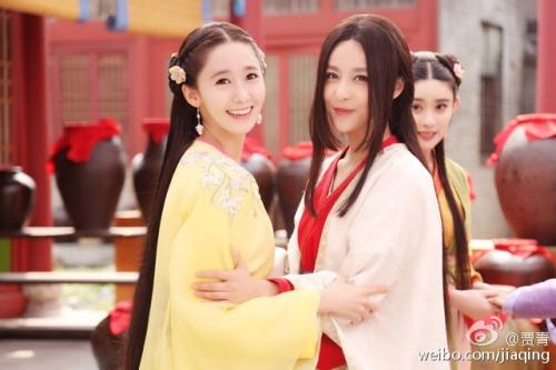 Im yoonA fond d'écran titled Yoona - God of War Zhao Yun