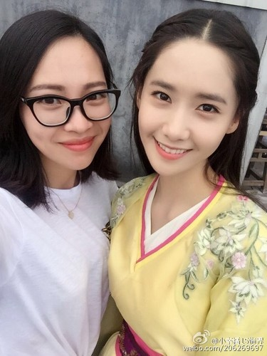 Im yoonA fond d'écran probably with a portrait called Yoona - God of War Zhao Yun