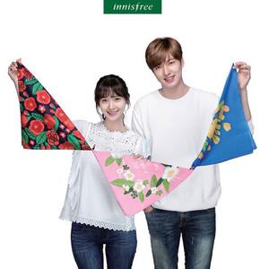 Yoona and Lee Min Ho - Innisfree
