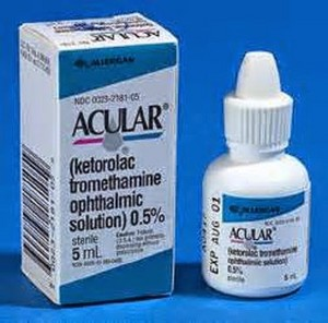 u can buy Acular eye drop from your nearest medical koop of door ordering it online from any authent