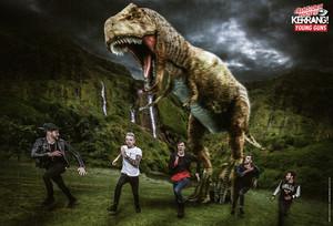 Young Pistolen in Kerrang Prehistoric Poster
