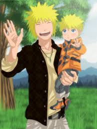 Naruto wallpaper probably containing a portrait called Young Naruto