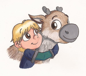 Young Sven and Kristoff