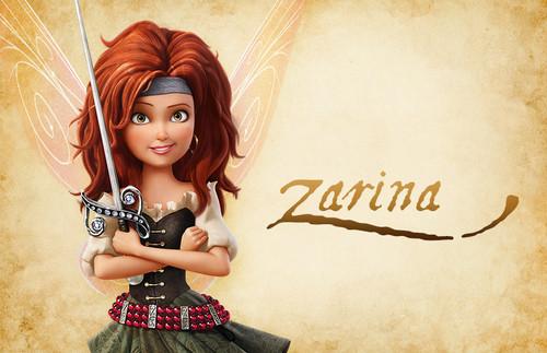Disney Elfen Filme Hintergrund called Zarina Pirate fairy