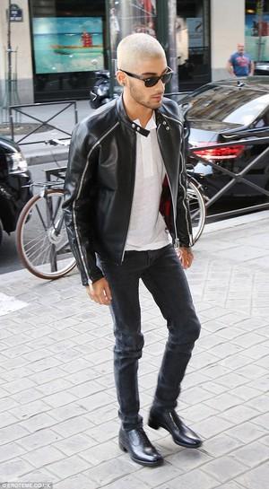 Zayn at Louis Vuitton Women fashion show