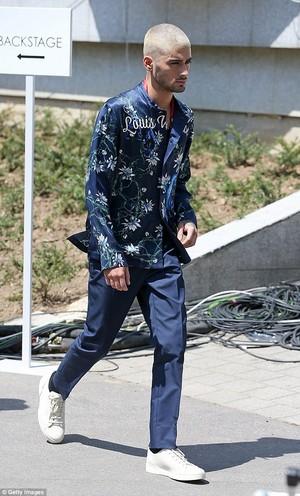 Zayn at Louis Vuitton menswear 显示