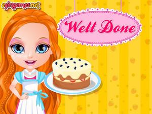 barbie cheese cake