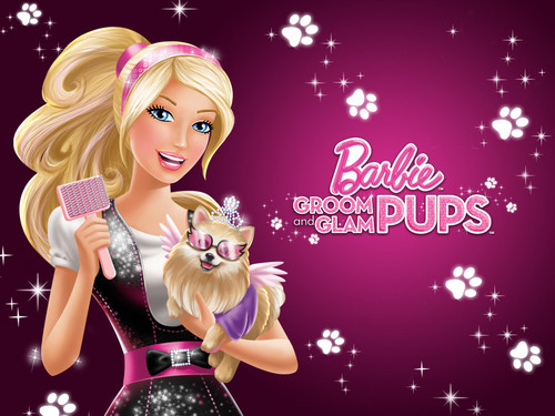 barbie A Princesa e a Popstar wallpaper with a bouquet titled bebek