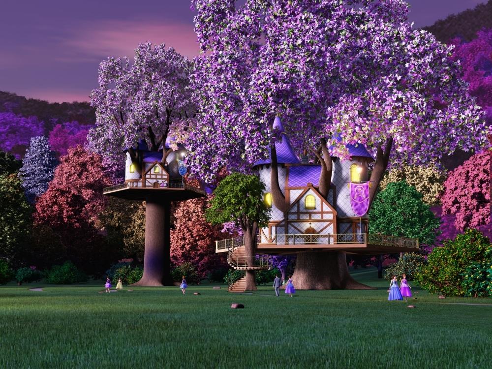 Treehouse Barbie in Rock'n Royals