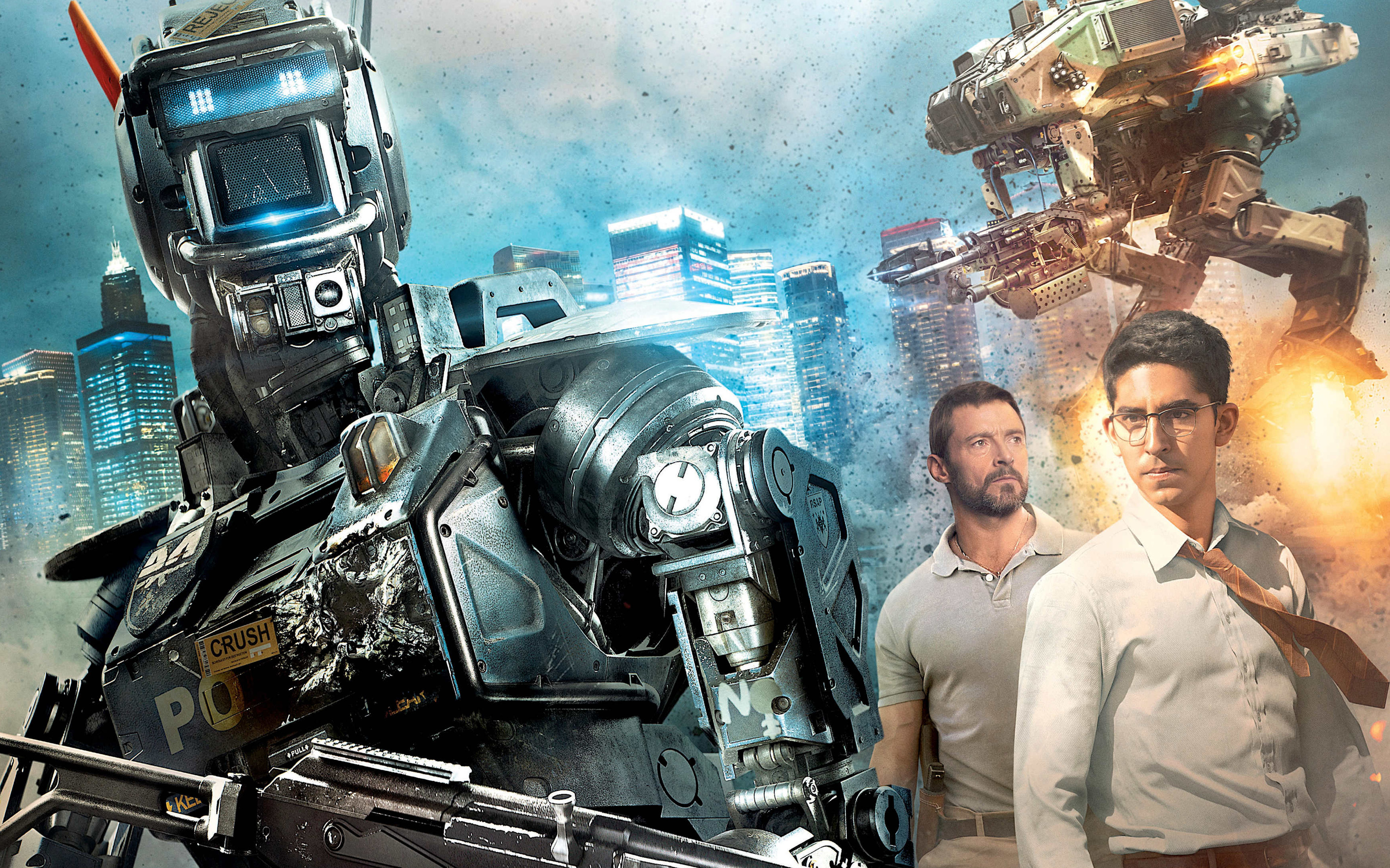 Hugh Jackman Images Chappie Movie Hd Wallpaper And Background Photos