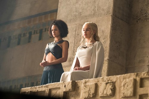 Daenerys Targaryen fond d'écran with a rue called daenerys and missandei