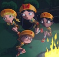 Fireside Girls  - phineas-and-ferb fan art