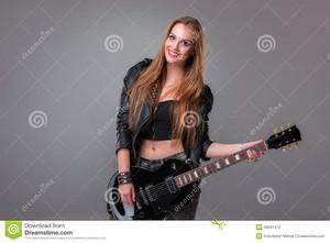 গিটার girl