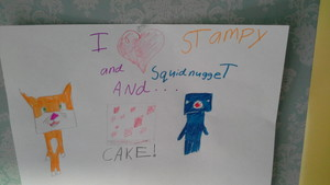 iballisticsquid and stampylongnose cake lovers