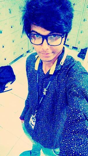 indian emo boy