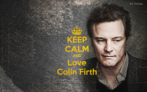 keep calm and 사랑 Colin Firth