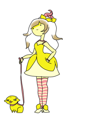 lemon, limau princess