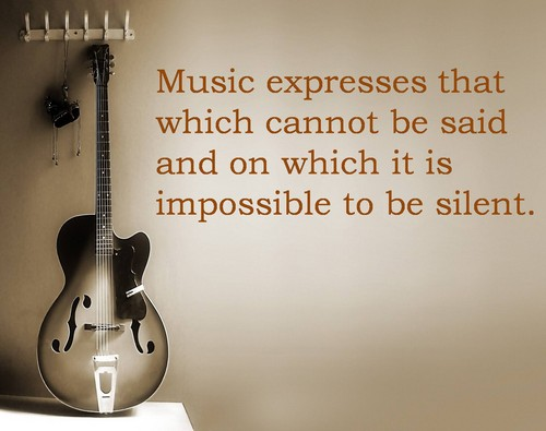 Quotes and Icons wallpaper entitled music quote 2