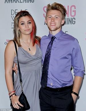 paris and her boyfriend chester