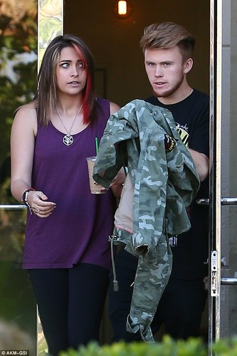 paris and her boyfriend - paris-jackson Photo